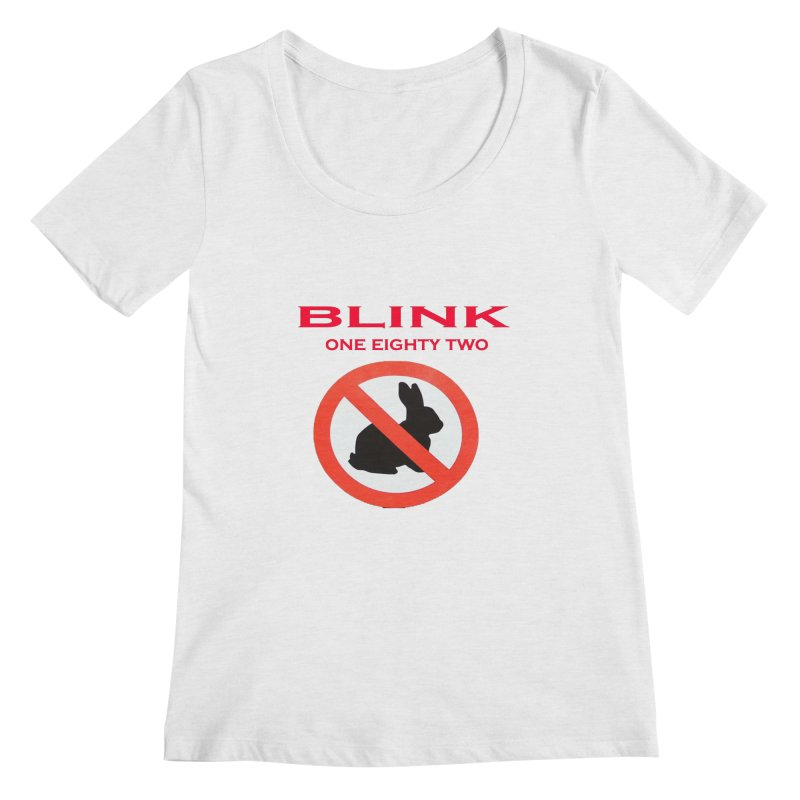 No bunny Women's Regular Scoop Neck by punkrockandufos's Artist Shop