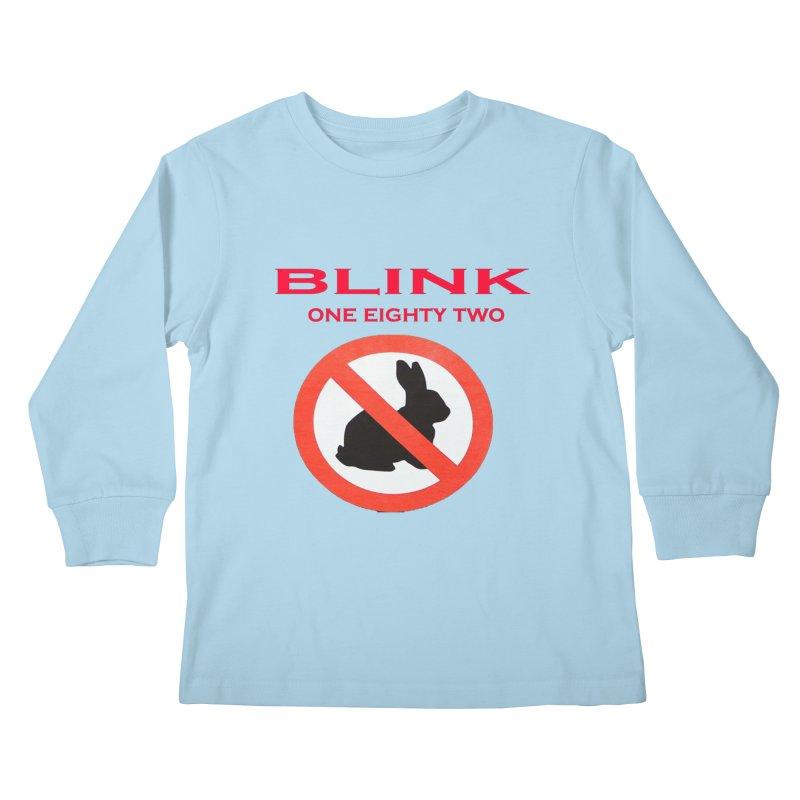 No bunny Kids Longsleeve T-Shirt by punkrockandufos's Artist Shop