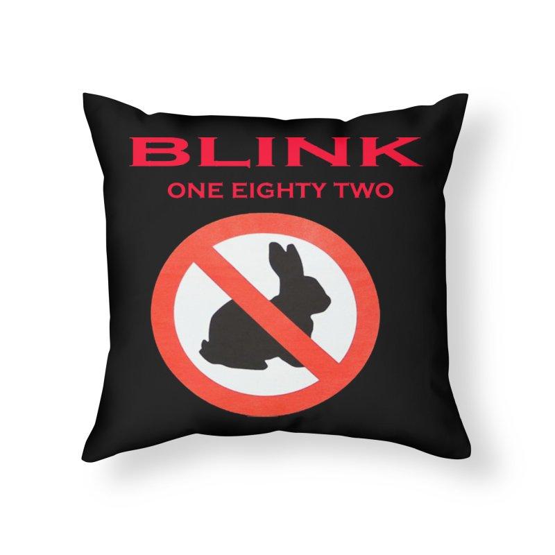 No bunny Home Throw Pillow by punkrockandufos's Artist Shop
