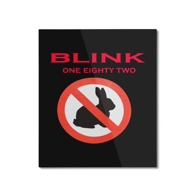 No bunny Home Mounted Aluminum Print by punkrockandufos's Artist Shop
