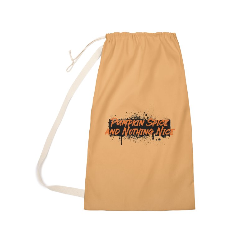 Pumpkin Spice and Nothing Nice Accessories Bag by punkrockandufos's Artist Shop