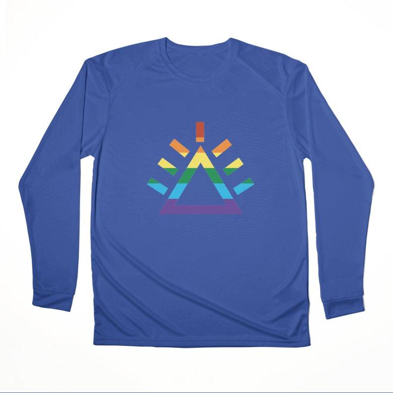 PRIDE Women's Performance Unisex Longsleeve T-Shirt by punkrockandufos's Artist Shop