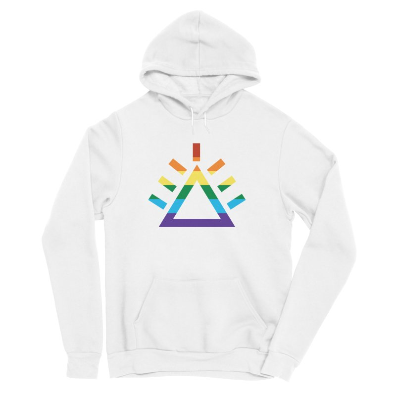 PRIDE Men's Sponge Fleece Pullover Hoody by punkrockandufos's Artist Shop