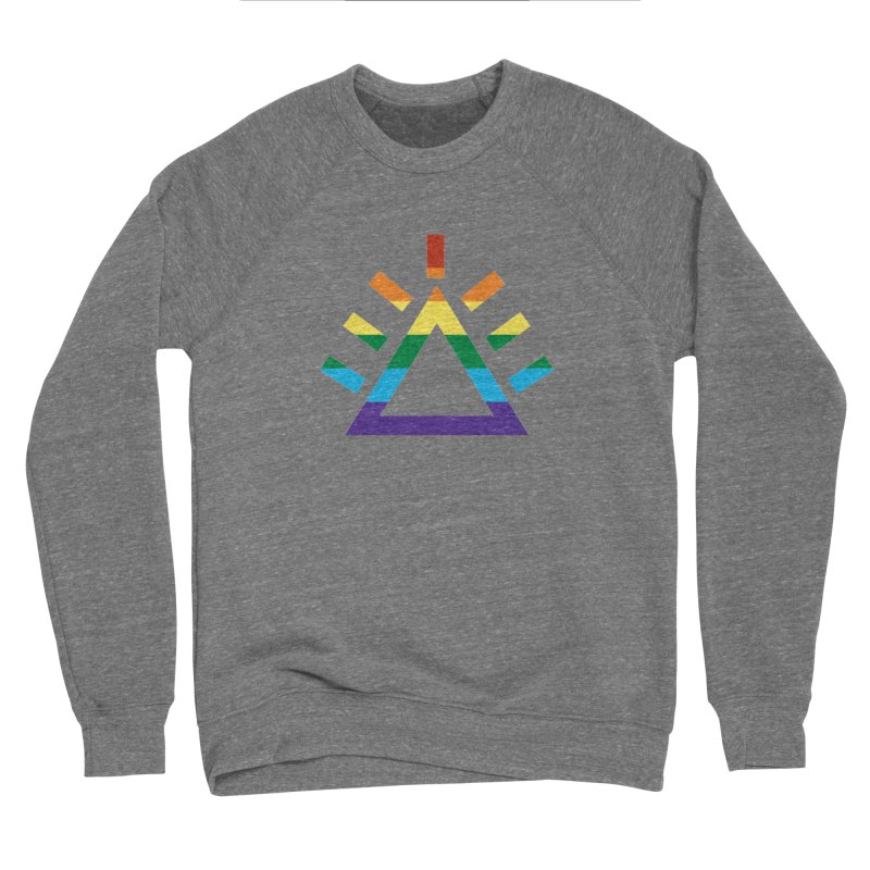 PRIDE Men's Sponge Fleece Sweatshirt by punkrockandufos's Artist Shop
