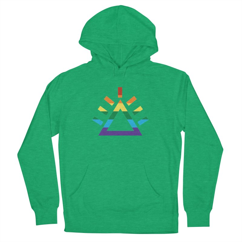 PRIDE Women's French Terry Pullover Hoody by punkrockandufos's Artist Shop