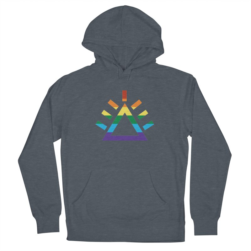 PRIDE Men's French Terry Pullover Hoody by punkrockandufos's Artist Shop