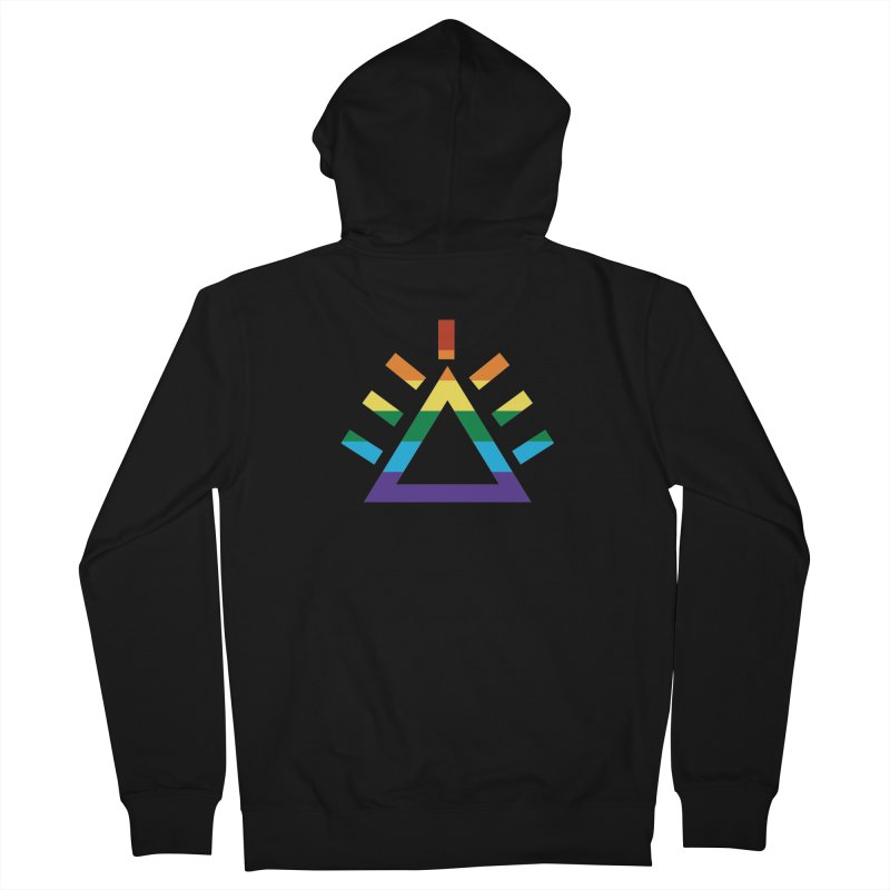 PRIDE Women's French Terry Zip-Up Hoody by punkrockandufos's Artist Shop