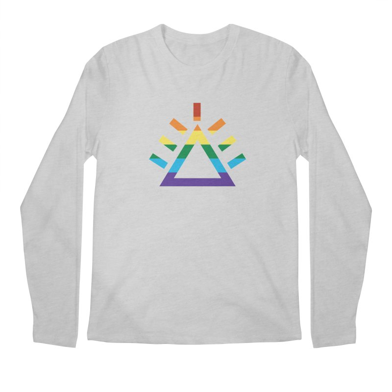 PRIDE Men's Regular Longsleeve T-Shirt by punkrockandufos's Artist Shop