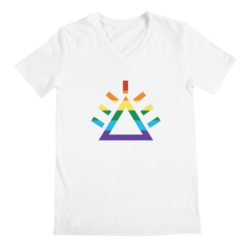 PRIDE Men's V-Neck by punkrockandufos's Artist Shop