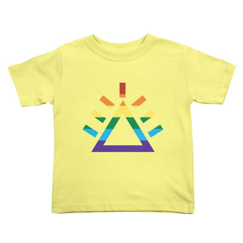 PRIDE Kids Toddler T-Shirt by punkrockandufos's Artist Shop