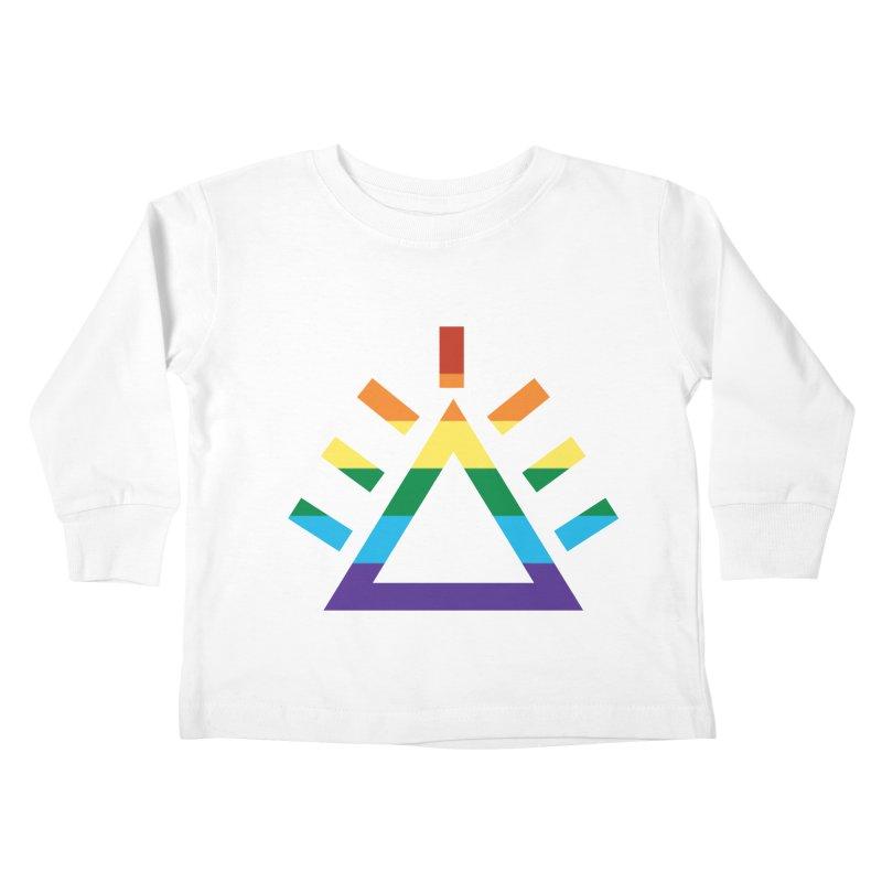 PRIDE Kids Toddler Longsleeve T-Shirt by punkrockandufos's Artist Shop