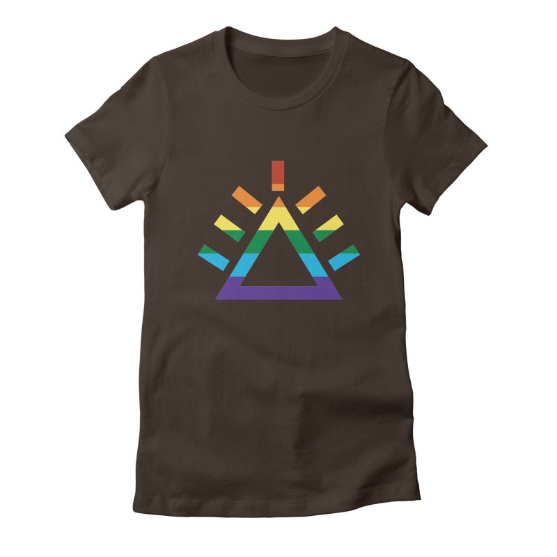 PRIDE Women's Fitted T-Shirt by punkrockandufos's Artist Shop