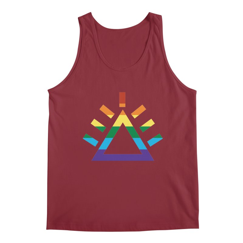 PRIDE Men's Regular Tank by punkrockandufos's Artist Shop