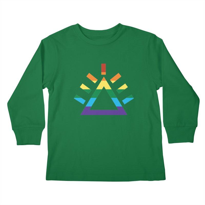 PRIDE Kids Longsleeve T-Shirt by punkrockandufos's Artist Shop