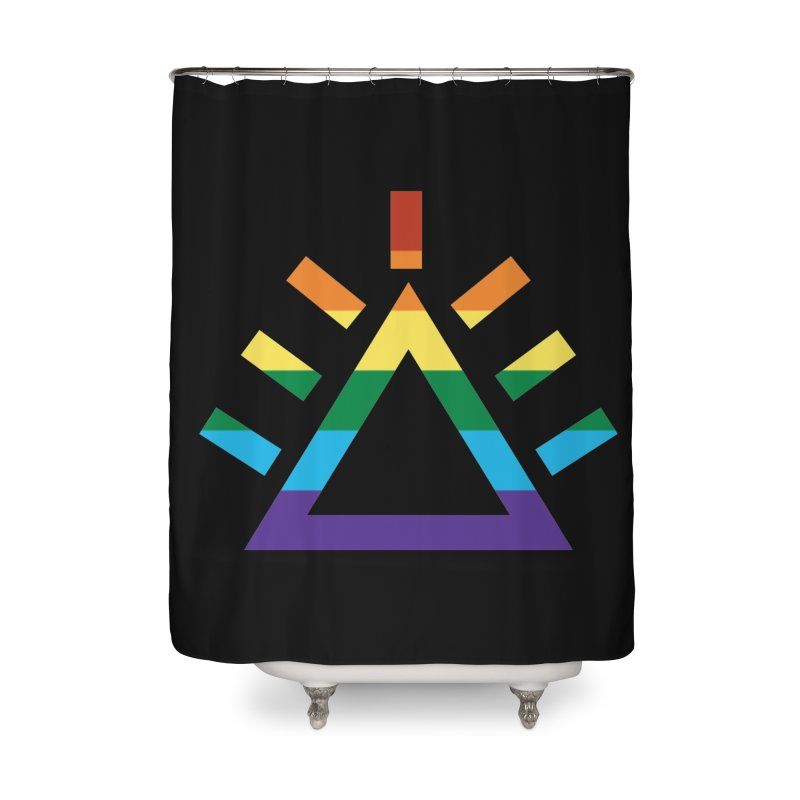 PRIDE Home Shower Curtain by punkrockandufos's Artist Shop