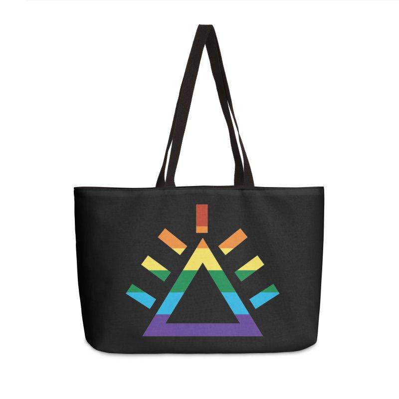 PRIDE Accessories Weekender Bag Bag by punkrockandufos's Artist Shop