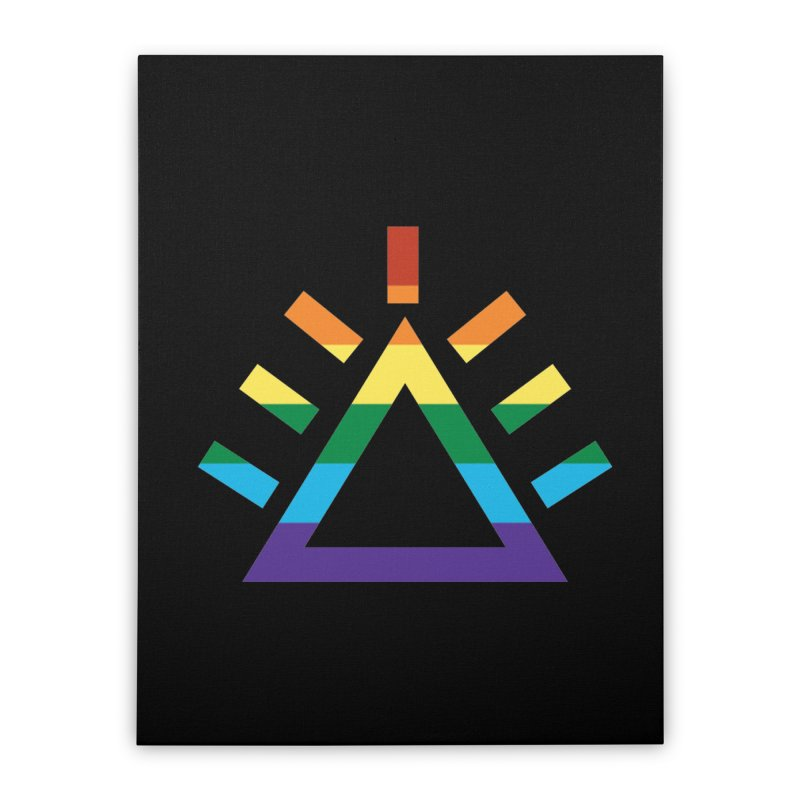 PRIDE Home Stretched Canvas by punkrockandufos's Artist Shop
