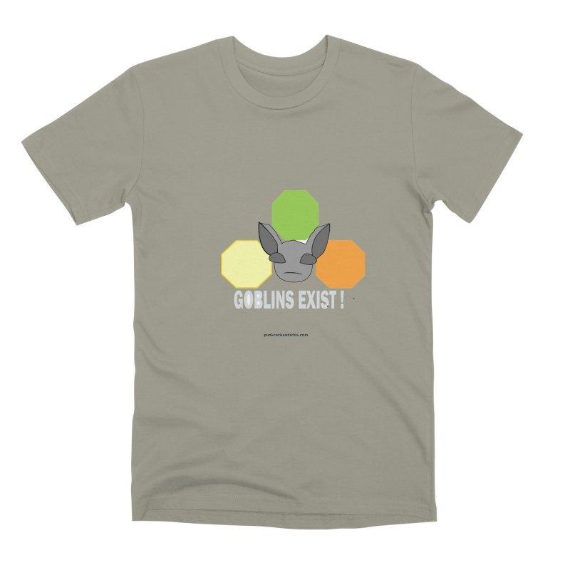 Goblins Exist Men's Premium T-Shirt by punkrockandufos's Artist Shop
