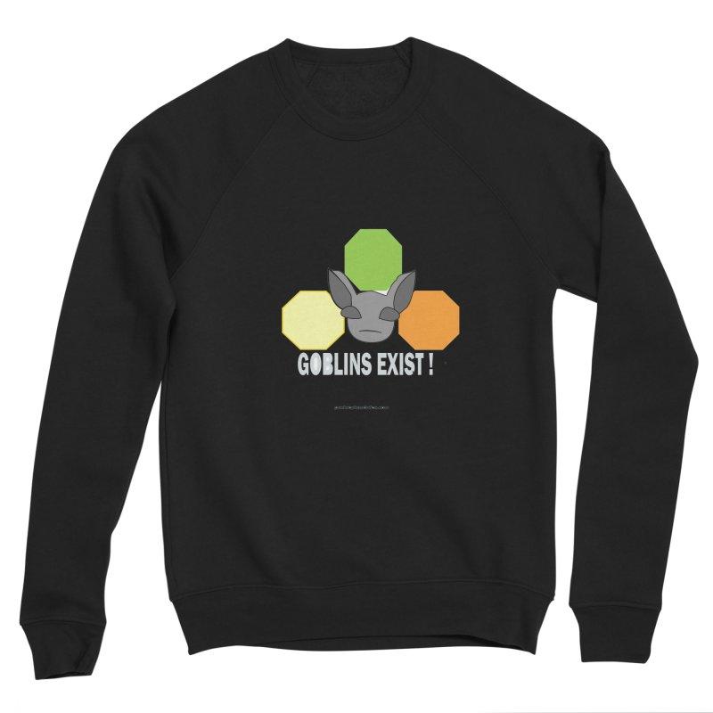 Goblins Exist Women's Sponge Fleece Sweatshirt by punkrockandufos's Artist Shop