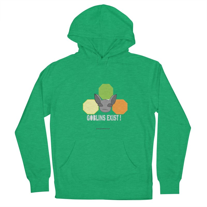 Goblins Exist Men's French Terry Pullover Hoody by punkrockandufos's Artist Shop