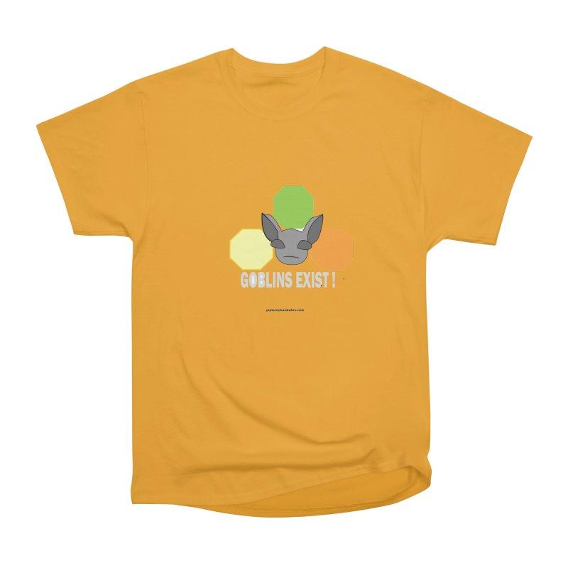 Goblins Exist Men's Heavyweight T-Shirt by punkrockandufos's Artist Shop