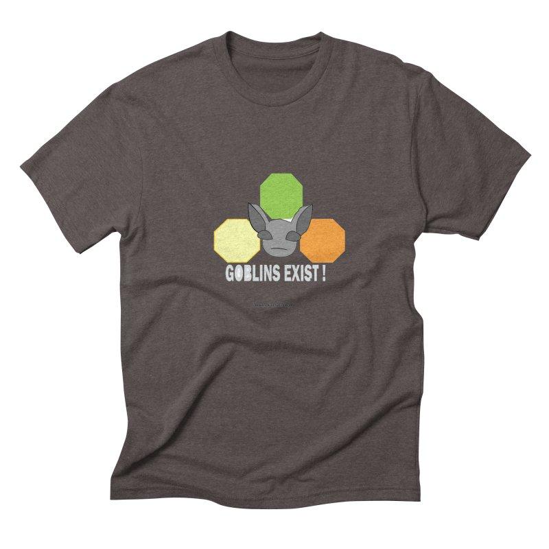 Goblins Exist Men's Triblend T-Shirt by punkrockandufos's Artist Shop