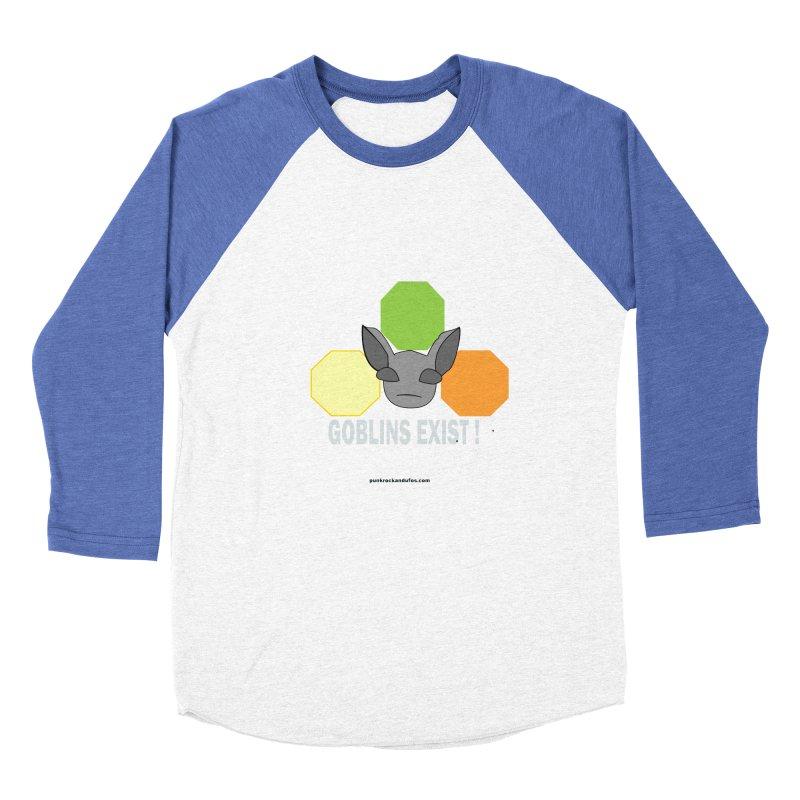 Goblins Exist Women's Baseball Triblend Longsleeve T-Shirt by punkrockandufos's Artist Shop