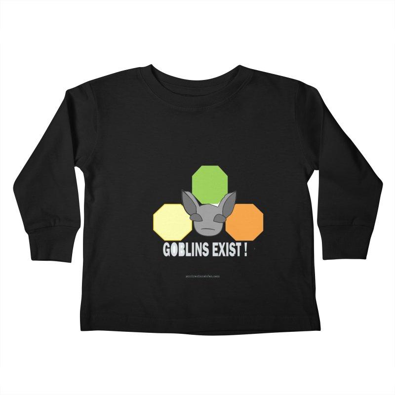 Goblins Exist Kids Toddler Longsleeve T-Shirt by punkrockandufos's Artist Shop