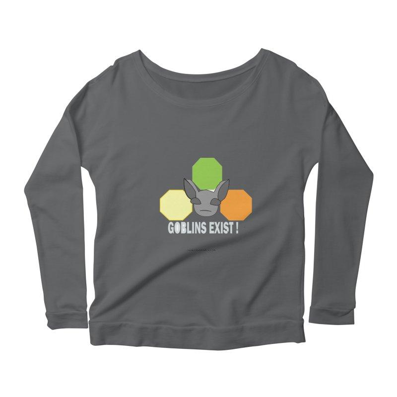 Goblins Exist Women's Longsleeve T-Shirt by punkrockandufos's Artist Shop
