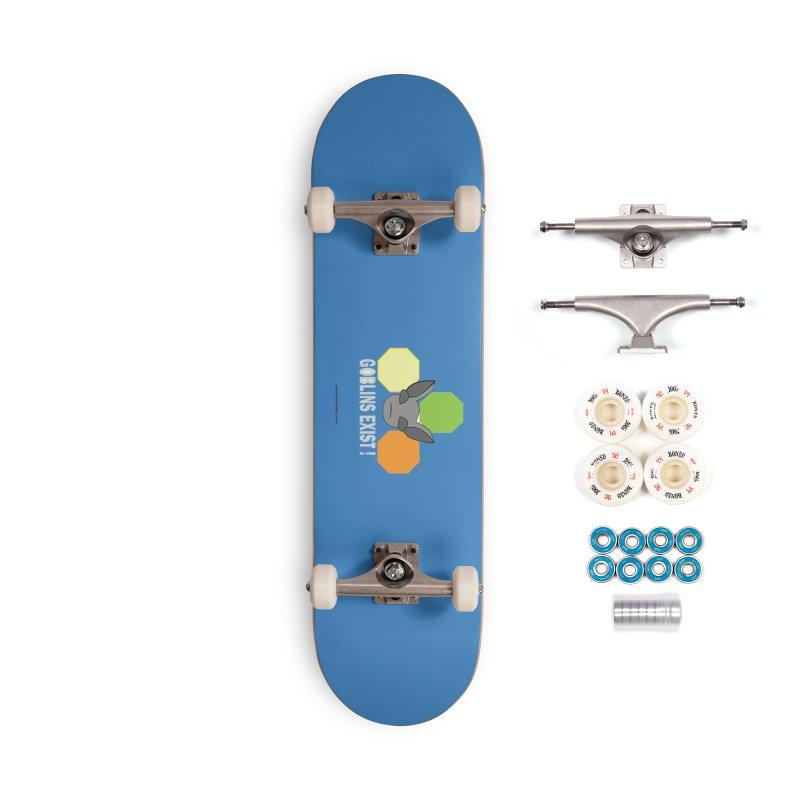 Goblins Exist Accessories Complete - Premium Skateboard by punkrockandufos's Artist Shop