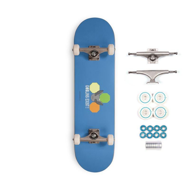 Goblins Exist Accessories Complete - Basic Skateboard by punkrockandufos's Artist Shop