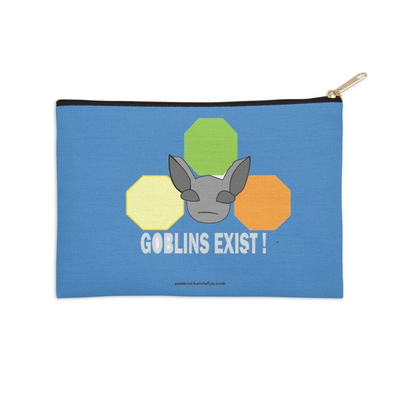 Goblins Exist Accessories Zip Pouch by punkrockandufos's Artist Shop