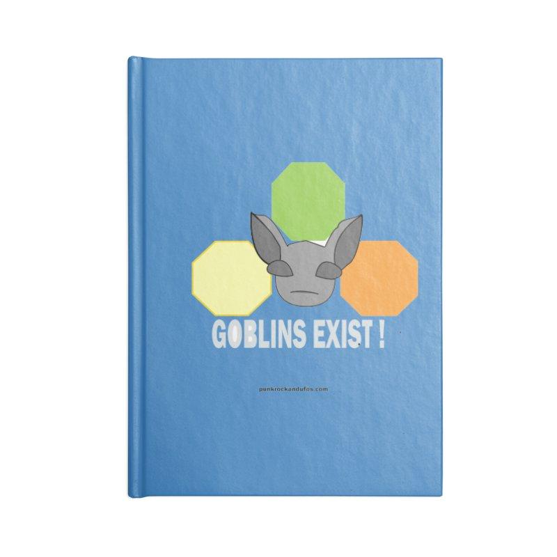 Goblins Exist Accessories Lined Journal Notebook by punkrockandufos's Artist Shop