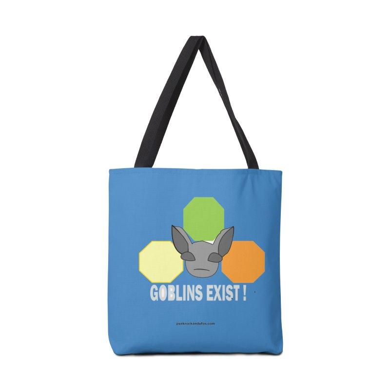 Goblins Exist Accessories Tote Bag Bag by punkrockandufos's Artist Shop