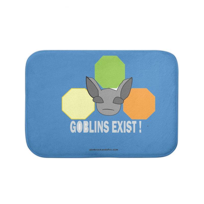 Goblins Exist Home Bath Mat by punkrockandufos's Artist Shop