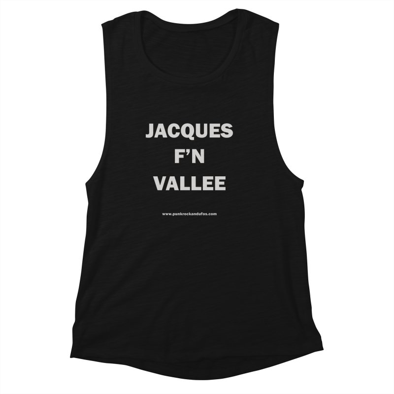 Jacques F'N Vallée Women's Tank by punkrockandufos's Artist Shop