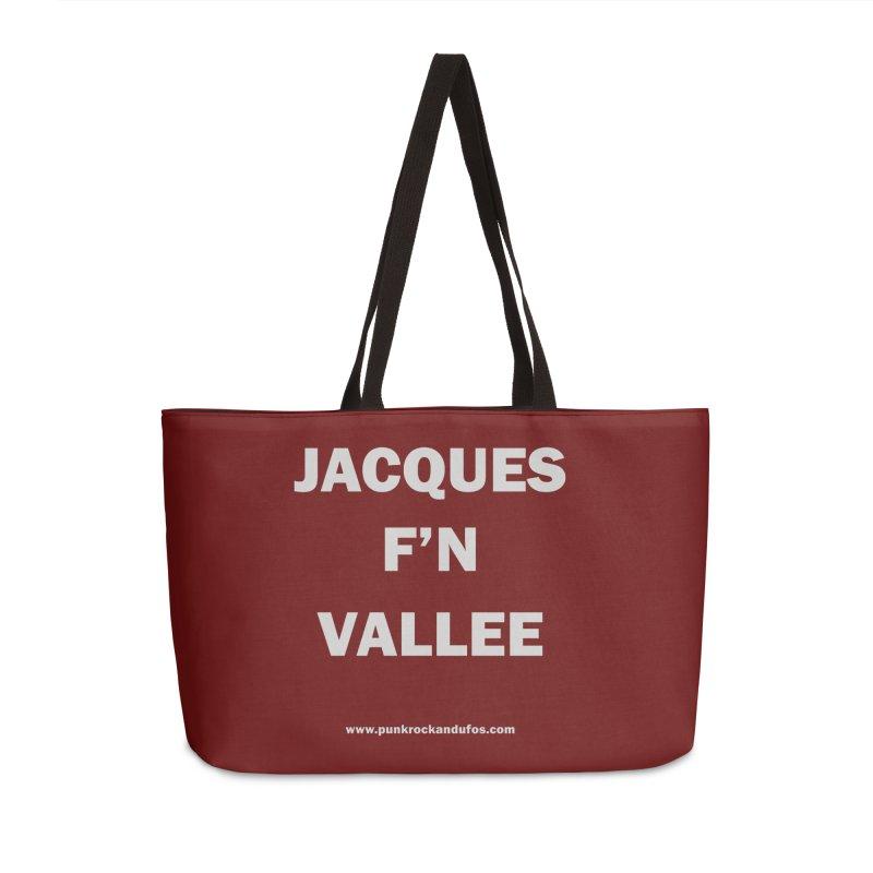 Jacques F'N Vallée Accessories Weekender Bag Bag by punkrockandufos's Artist Shop