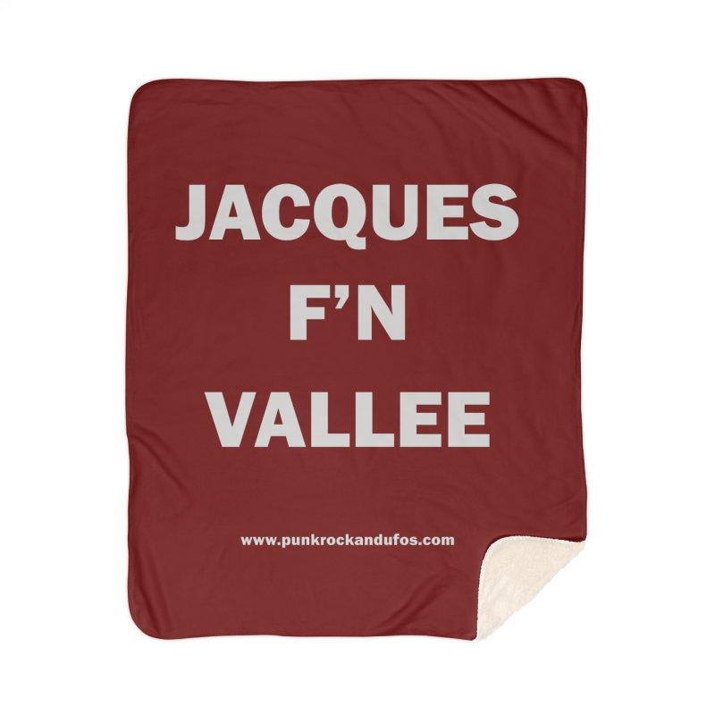Jacques F'N Vallée Home Blanket by punkrockandufos's Artist Shop