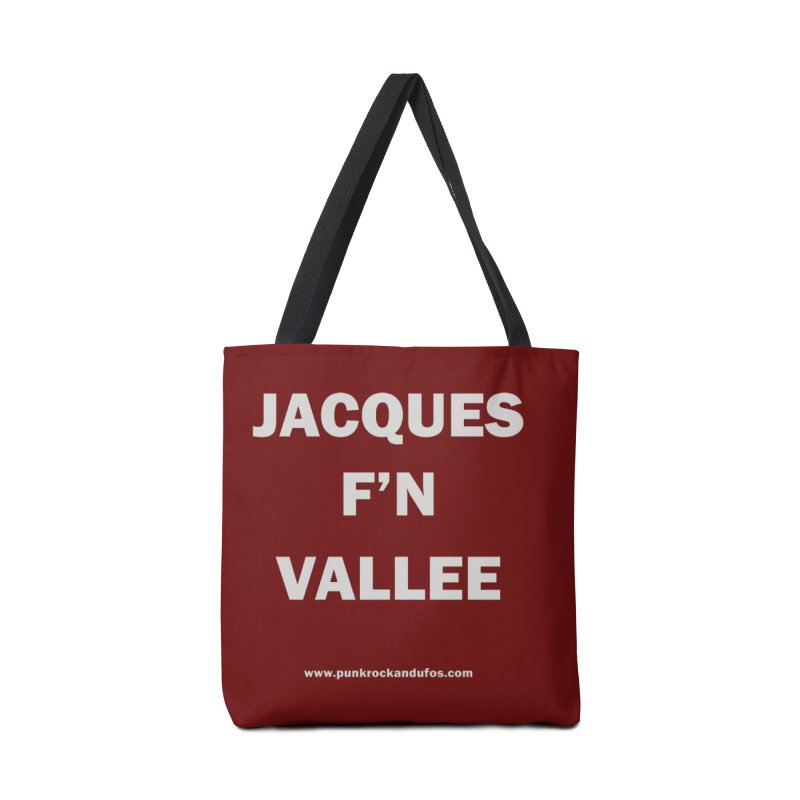 Jacques F'N Vallée Accessories Tote Bag Bag by punkrockandufos's Artist Shop