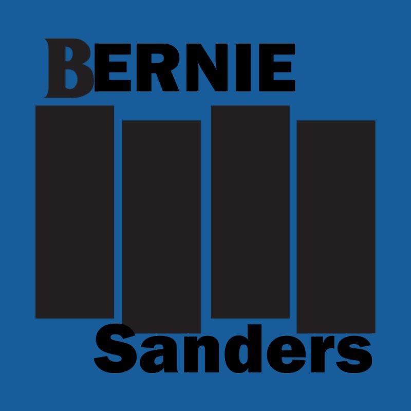 Bernie Flag 2020 Men's T-Shirt by punkrockandufos's Artist Shop
