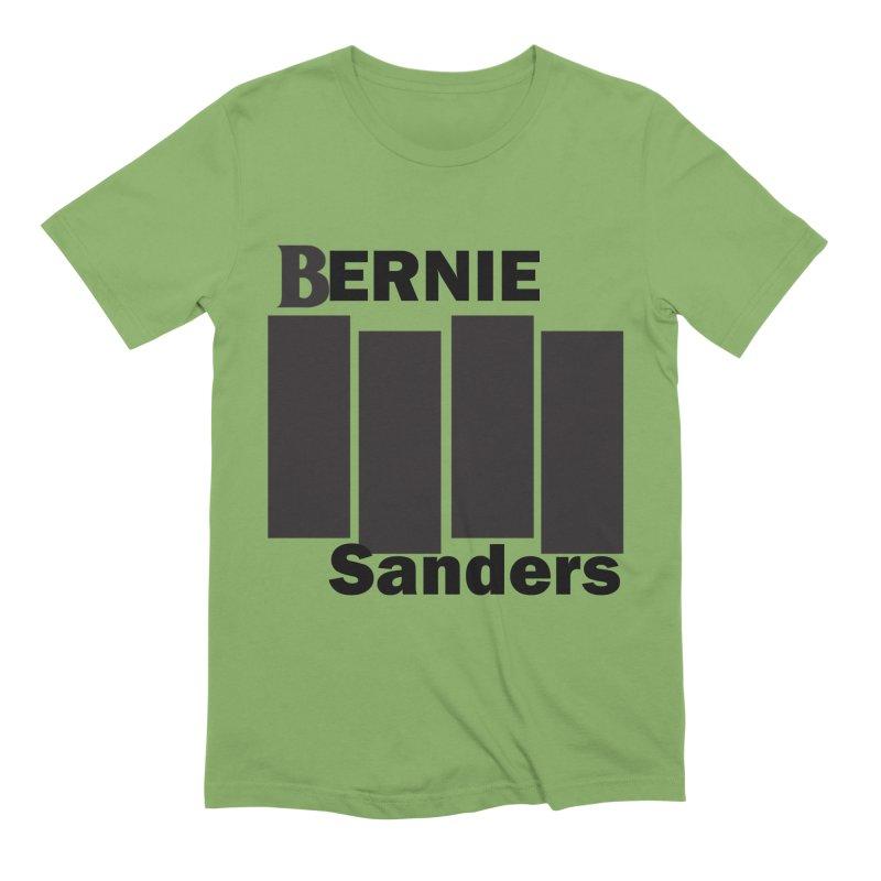 Bernie Flag 2020 Men's Extra Soft T-Shirt by punkrockandufos's Artist Shop