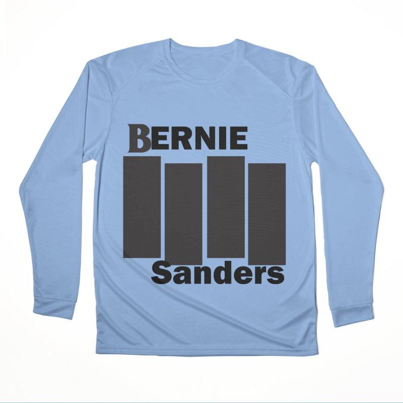 Bernie Flag 2020 Men's Performance Longsleeve T-Shirt by punkrockandufos's Artist Shop