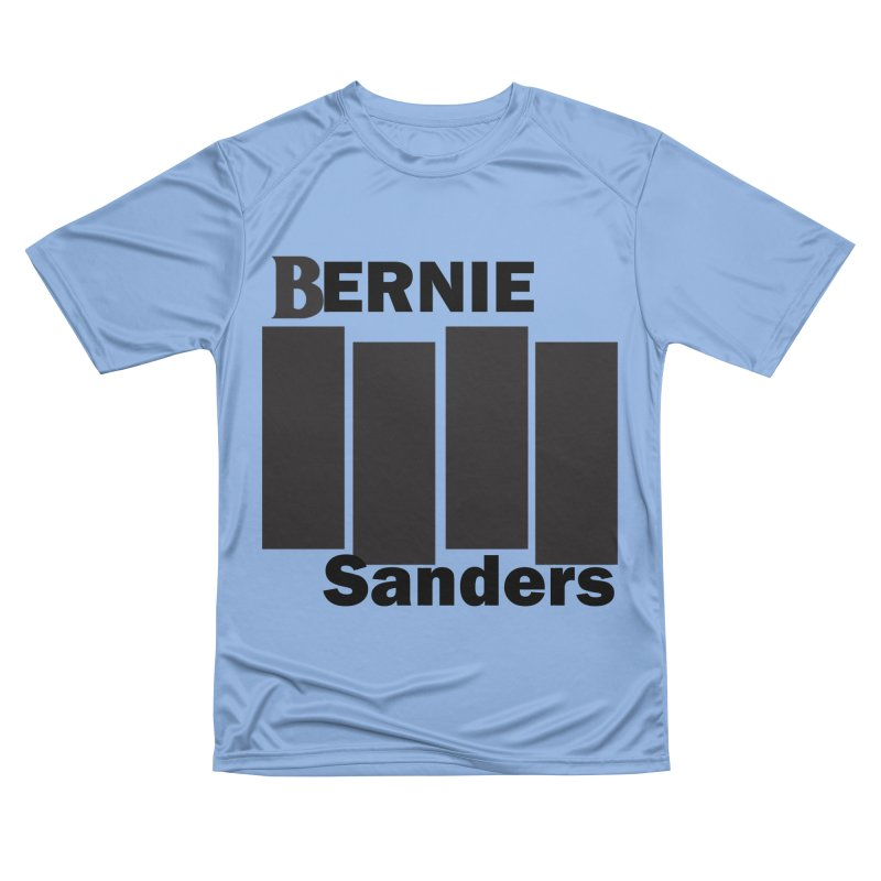 Bernie Flag 2020 Men's Performance T-Shirt by punkrockandufos's Artist Shop