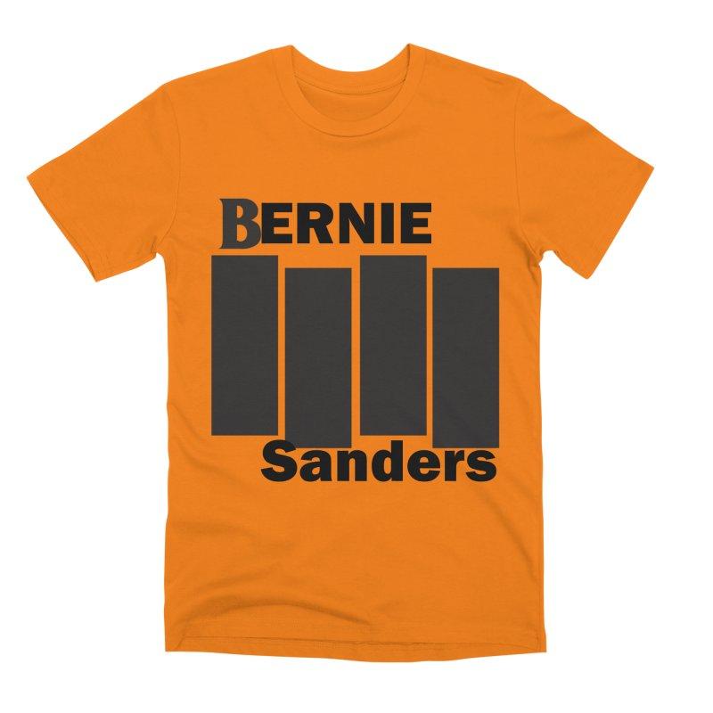 Bernie Flag 2020 Men's Premium T-Shirt by punkrockandufos's Artist Shop