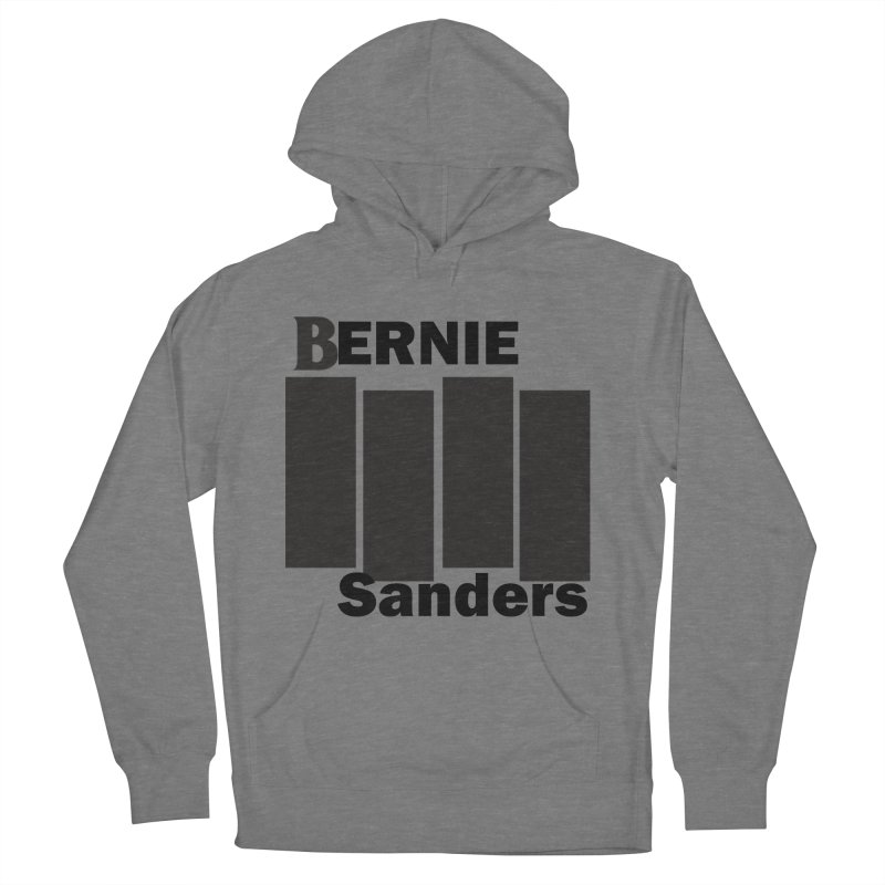 Bernie Flag 2020 Men's French Terry Pullover Hoody by punkrockandufos's Artist Shop