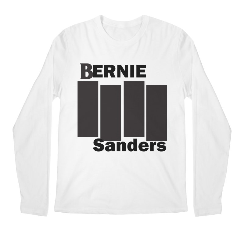 Bernie Flag 2020 Men's Regular Longsleeve T-Shirt by punkrockandufos's Artist Shop