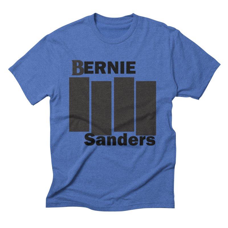 Bernie Flag 2020 Men's T-Shirt by punkrockandufos's Artist Shop
