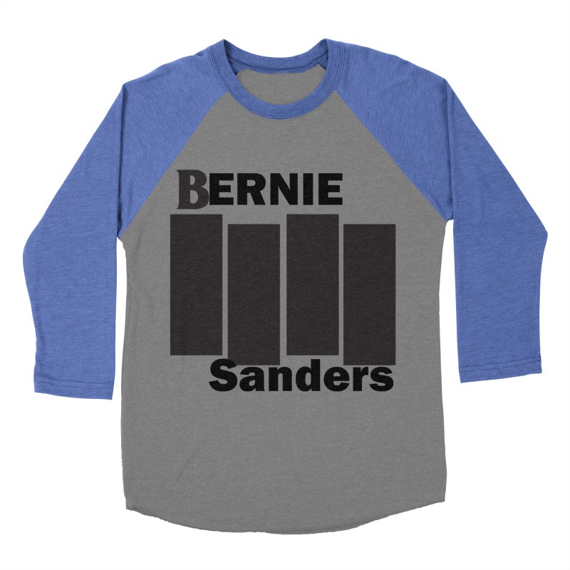 Bernie Flag 2020 Men's Baseball Triblend Longsleeve T-Shirt by punkrockandufos's Artist Shop
