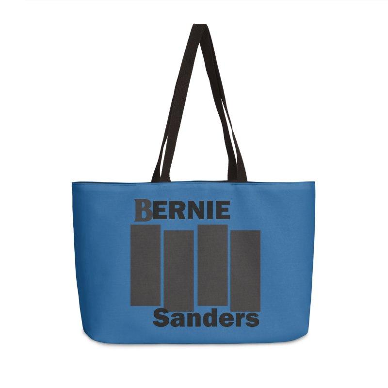 Bernie Flag 2020 Accessories Weekender Bag Bag by punkrockandufos's Artist Shop