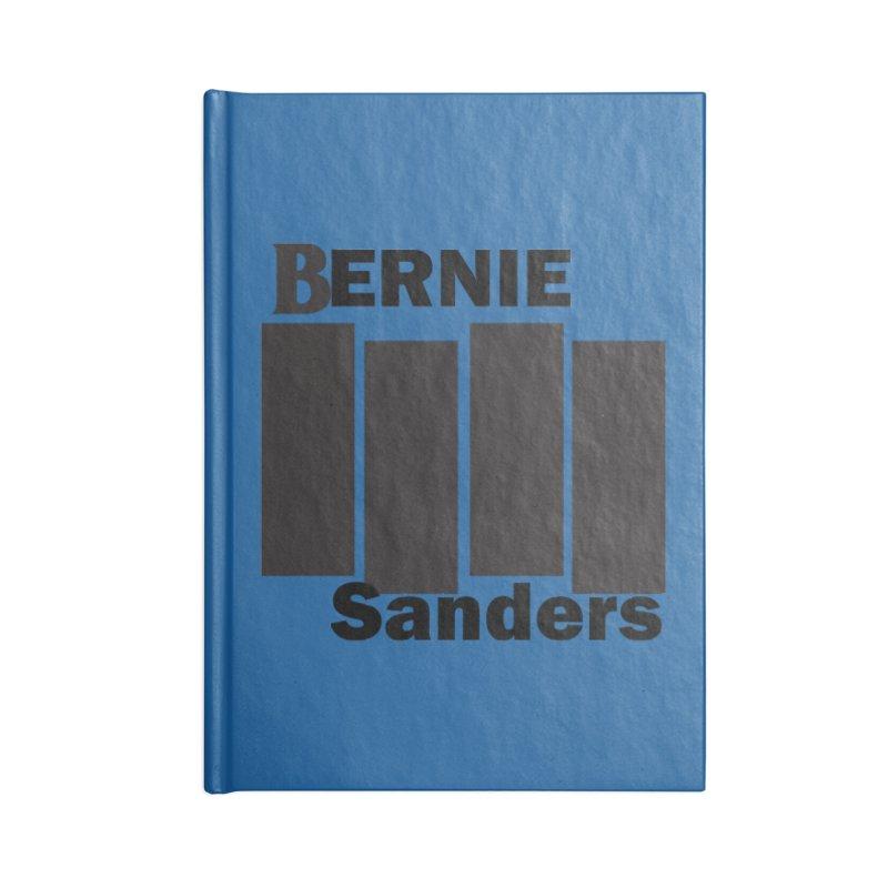 Bernie Flag 2020 Accessories Blank Journal Notebook by punkrockandufos's Artist Shop